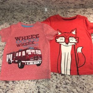 Cat & Jack Toddler Boys Shirt Bundle 3T